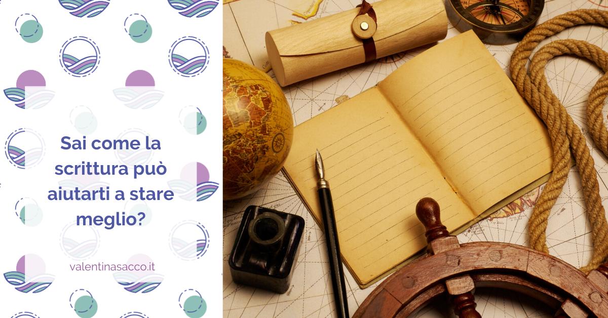 Scrivania con oggetti vari da viaggio