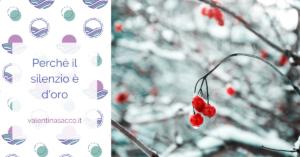 bacche rosse nella neve