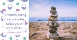 Pietre in equilibrio sulla spiaggia