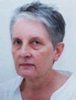 Foto tessera di donna